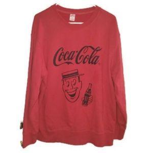 Uniqlo X CocaCola Mens Sweatshirt